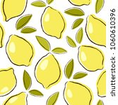 seamless vector pattern with... | Shutterstock .eps vector #1060610396