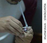 amphetamine drug smoking   Shutterstock . vector #1060614056