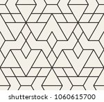 abstract geometric pattern with ... | Shutterstock .eps vector #1060615700
