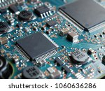 electronic motherboard... | Shutterstock . vector #1060636286