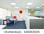 new ideas of modern office... | Shutterstock . vector #106063634
