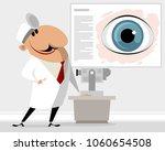 vector illustration of eye... | Shutterstock .eps vector #1060654508