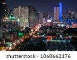 scenic of night urban cityscape ... | Shutterstock . vector #1060662176