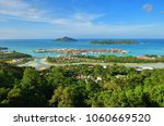 aerial view on the coastline of ... | Shutterstock . vector #1060669520