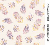 seamless vector pattern with... | Shutterstock .eps vector #1060699430