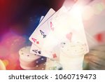 casino abstract background card ... | Shutterstock . vector #1060719473