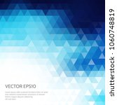 abstract polygonal background...   Shutterstock .eps vector #1060748819