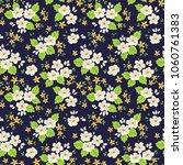 Floral Pattern. Cute Flowers On ...