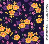 floral seamless pattern with... | Shutterstock .eps vector #1060769909