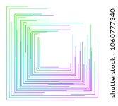 design elements. rainbow... | Shutterstock .eps vector #1060777340