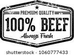 100  Fresh Beef Vintage Butche...