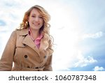 portrait of a beautiful young...   Shutterstock . vector #1060787348