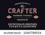 original handmade alphabet.... | Shutterstock .eps vector #1060788926