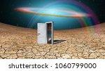 surrealism. door to another...   Shutterstock . vector #1060799000