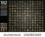 mega set and big group  real... | Shutterstock .eps vector #1060802684