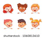 cartoon collection of little... | Shutterstock .eps vector #1060813610