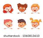 cartoon collection of little... | Shutterstock .eps vector #1060813610