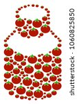 vial collage of tomatoes in... | Shutterstock . vector #1060825850