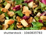 close up of salad with lettuce  ...   Shutterstock . vector #1060835783