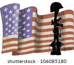 fallen flag