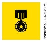 honor medal icon vector | Shutterstock .eps vector #1060854329