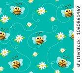 seamless vector pattern of cute ...   Shutterstock .eps vector #1060861469