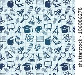 vector seamless pattern with... | Shutterstock .eps vector #106086278