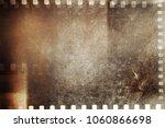 film negative frames grunge... | Shutterstock . vector #1060866698