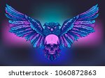 vector art for tatoo or poster...
