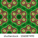 Pattern Mandala Green ...