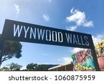 wynwood walls miami | Shutterstock . vector #1060875959
