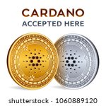 cardano. accepted sign emblem.... | Shutterstock .eps vector #1060889120