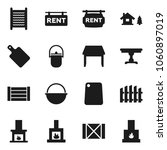flat vector icon set  ... | Shutterstock .eps vector #1060897019