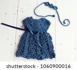 A Blue Dress For A Little Girl  ...