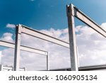 construction site of hall ... | Shutterstock . vector #1060905134