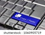 keyboard key   copy   paste   Shutterstock . vector #1060905719