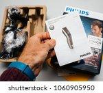 paris  france   feb 14  2018 ...   Shutterstock . vector #1060905950