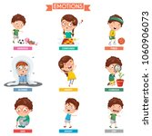 vector illustration of kid... | Shutterstock .eps vector #1060906073