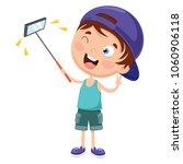 vector illustration of kid... | Shutterstock .eps vector #1060906118