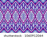 geometric folklore ornament.... | Shutterstock .eps vector #1060912064