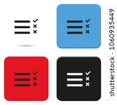 checklist flat vector icon.