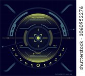 futuristic user interface hud...