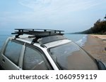 car roof rack traveling to the...   Shutterstock . vector #1060959119