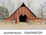 18th century old school red... | Shutterstock . vector #1060968239