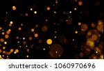 abstract golden glitter light... | Shutterstock . vector #1060970696