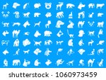 animals icon set. simple set of ... | Shutterstock .eps vector #1060973459