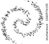 musical signs. modern...   Shutterstock .eps vector #1060976150