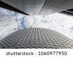 modern office buildings from... | Shutterstock . vector #1060977950