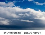 white  grey heavy fluffy ... | Shutterstock . vector #1060978994