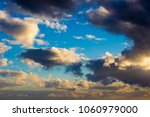 white  grey heavy fluffy ... | Shutterstock . vector #1060979000